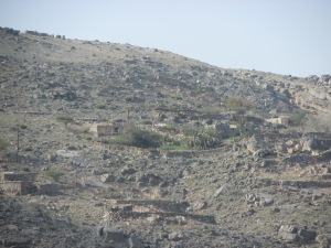 small settlement as we headed higher up the mountain. There is also one at the top along the ridge