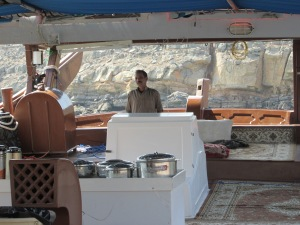 Pilot of the dhow