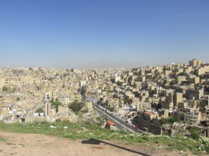 city of Amman surrounding the Citadel