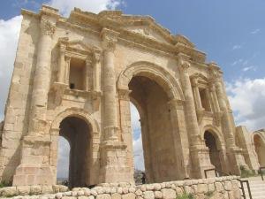 Hadrian's Arch at Jerash