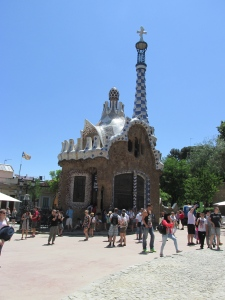 Guardhouse and gift shop at Park Guell