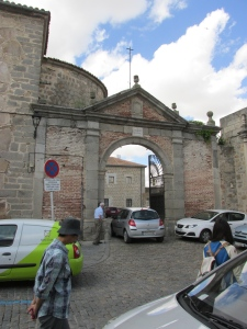 arched entry to Avila