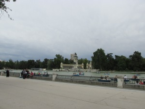 Lake in Retiro