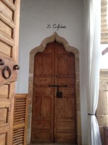 "Doors to our room ""La Confidente"""