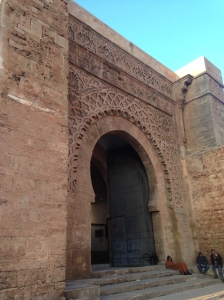 Gate to the walled city.
