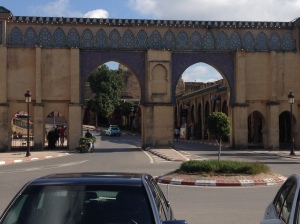Gates into Meknes