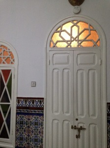 Doorway of our room at the riad.