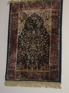 The Tree of Life - silk carpet I bought in Casablanca