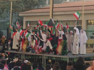 National Day celebration at school