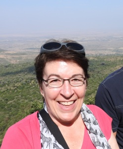 Me with the Rift Valley in the background