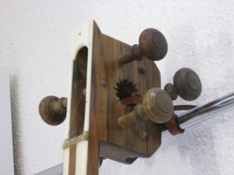 Old fashioned tuning knobs