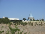 Beautiful, but unusual cone-shaped mosque