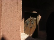 Door in Abyaneh