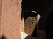 Door in Abyaneh
