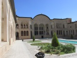 Main courtyard in the mansion