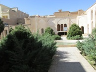 """Another courtyard inside the mansion. I think I remember this is the """"servants' courtyard."""""""