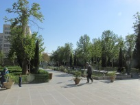 Gardens around the palace