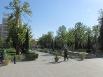 Gardens around the palace
