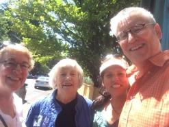 More family: Liz, Ursula, and Todd