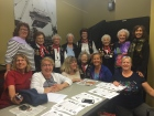The Cottey girls with the Rosie's at the Rosie the Riveter Museum in San Francisco.