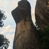 I think this was called Cobra Hood Cave, but I think it looks a bit like a monkey's head.