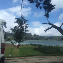 The lake in Kandy!