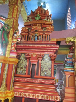 Shrine inside the temple.